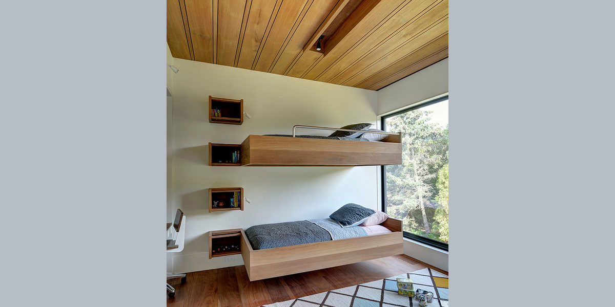 floating style bunk bed