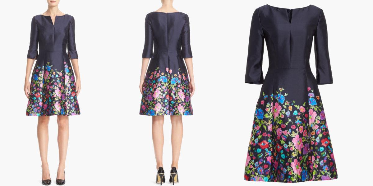 silk-cotton-mikado-dress-by-oscar-de-la-renta