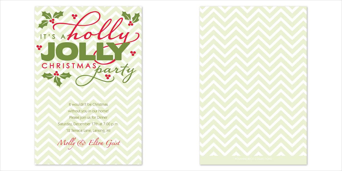 holly-jolly-party-invitation-card