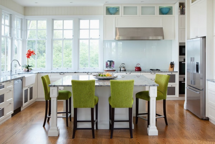 Upholstered Kitchen Island Chair