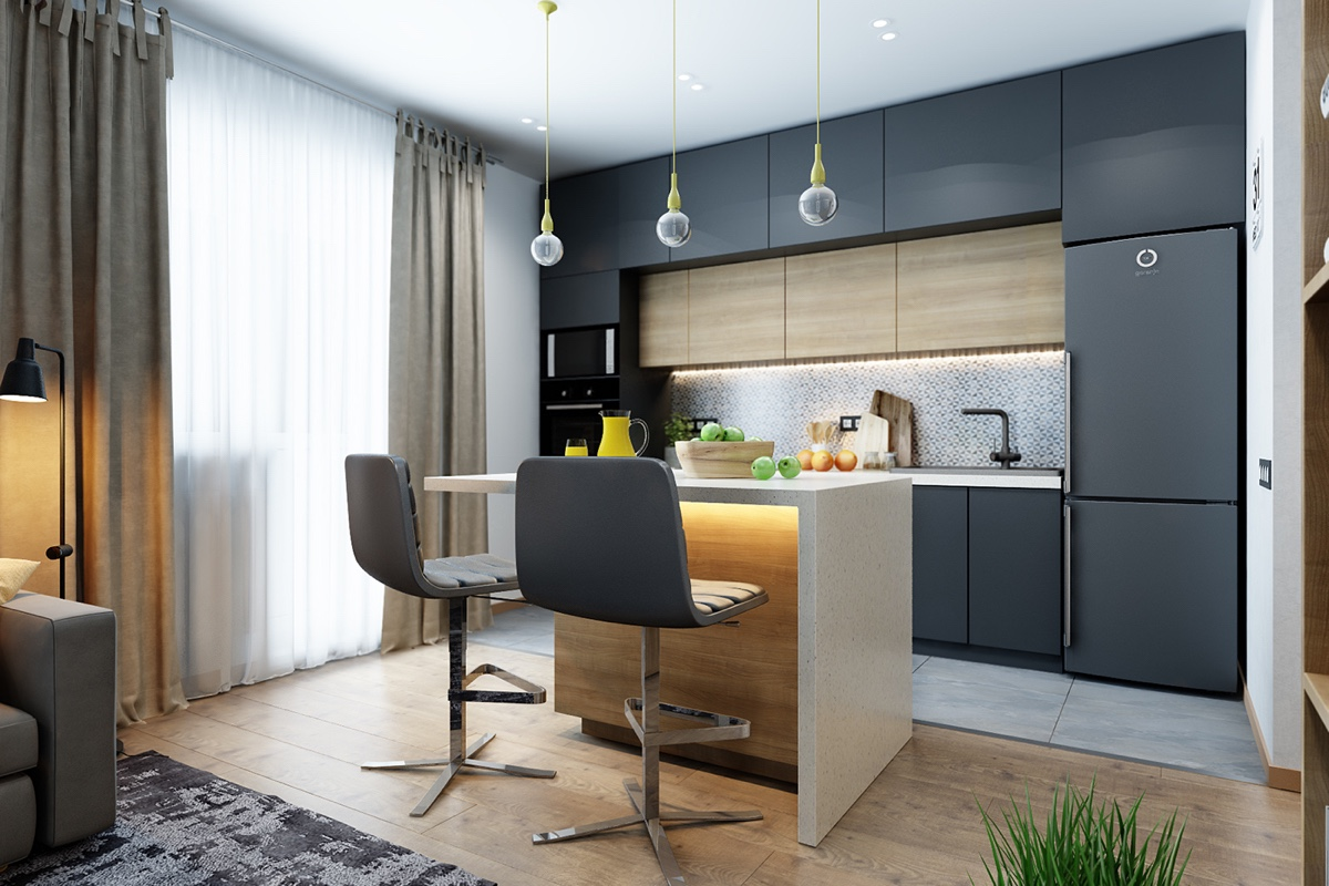 Small Kitchen Island Chair