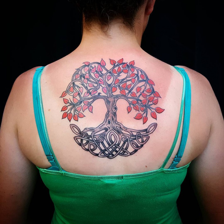 25 tree tattoo designs ideas design trends premium psd vector downloads. Black Bedroom Furniture Sets. Home Design Ideas