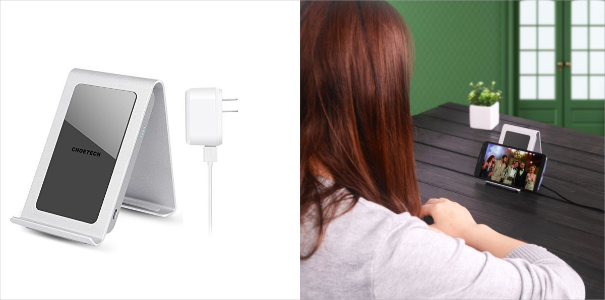 choetech iron stand wireless charger