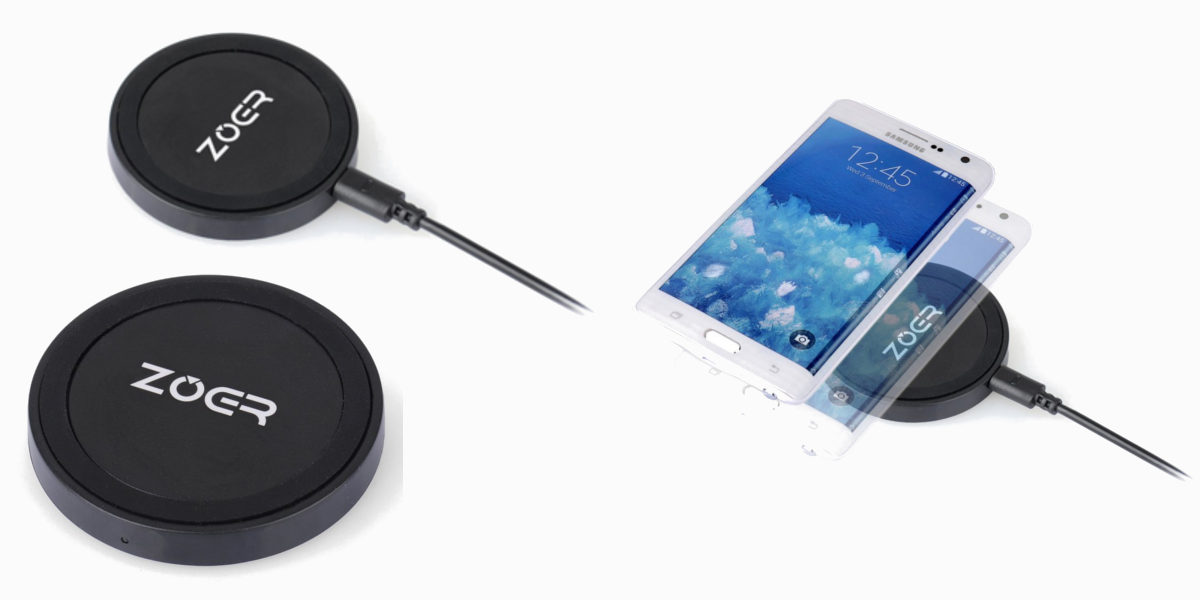 zoer qi wireless charger