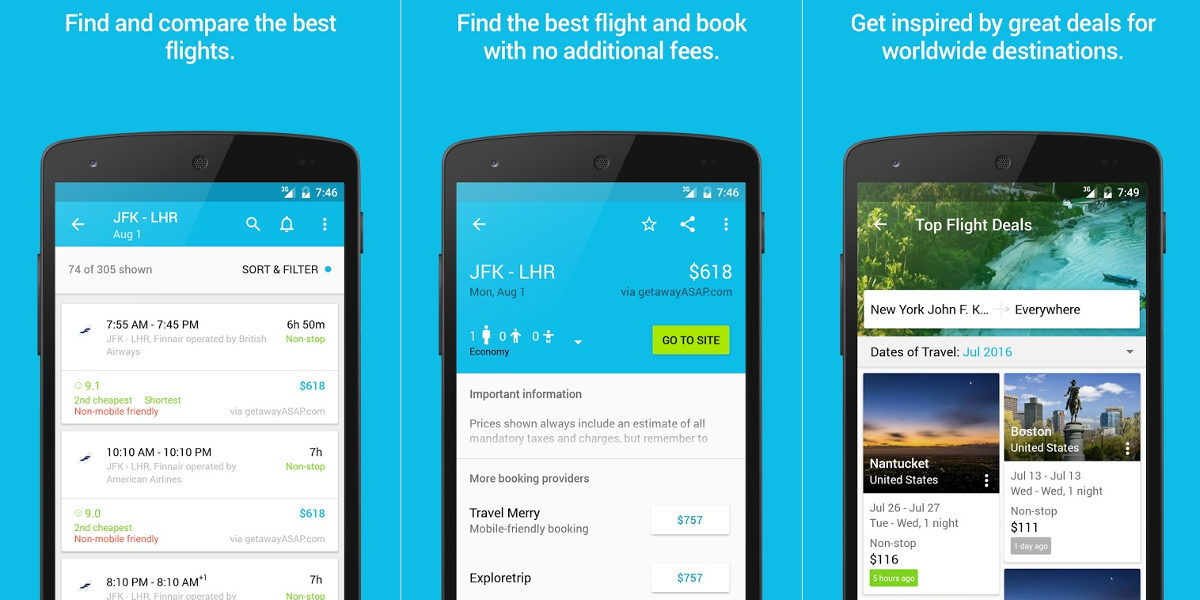 9 Best Travel Apps | Design Trends - Premium PSD, Vector
