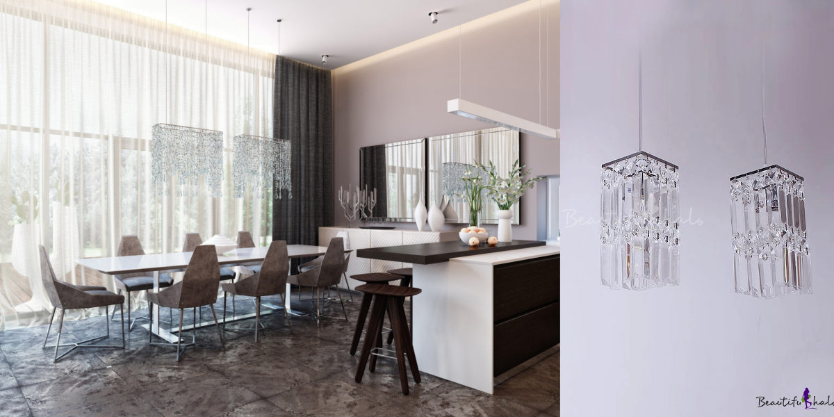 modern crystal lighting fixtures
