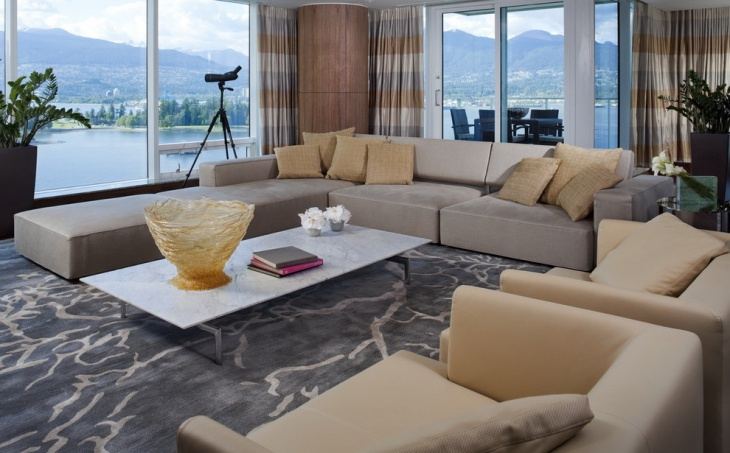 contemporary sectional living room furniture