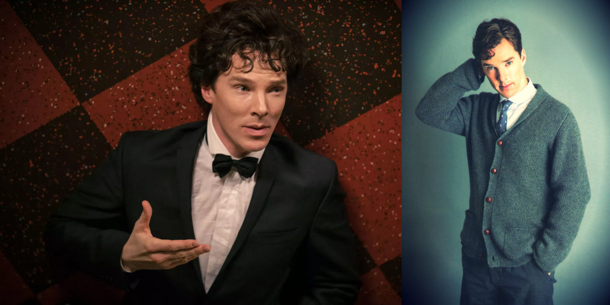 Try Curly Fringes like Benedict Cumberbatch