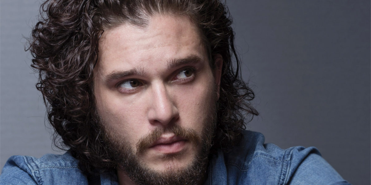 styling mens thick hair curly hairstyle ideas for haircut design trends 4578 | Kit Harington%E2%80%99s Medium Length Curly Hair 1