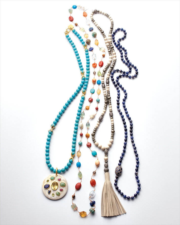 long crystal chain necklace1