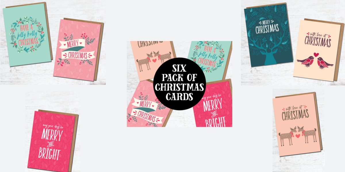 artistic christmas cards