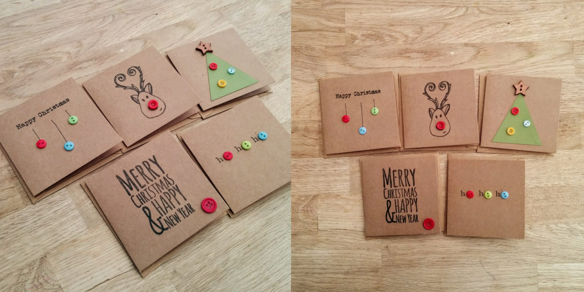 creative and cute christmas cards