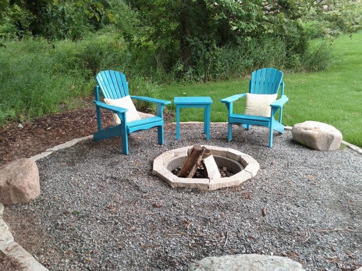 21 outdoor fire pit designs ideas design trends for Diy patio fire pit