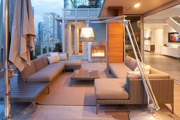 modern outdoor floor lamp