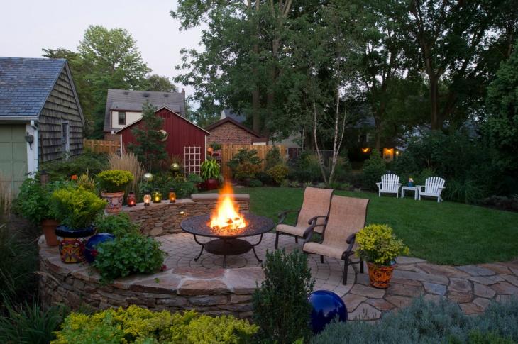portable backyard fire pit