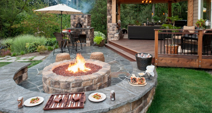 21+ Outdoor Fire Pit Designs, Ideas | Design Trends - Premium PSD ...