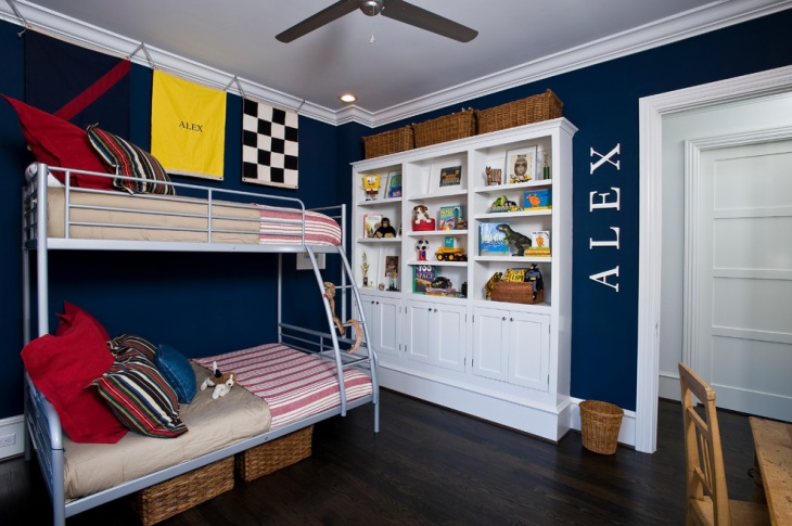 kids metal bunk bed design