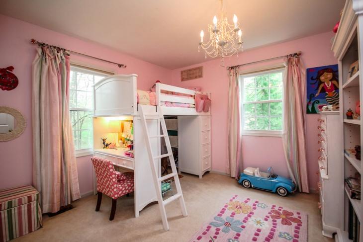Corner Loft Bunk Bed