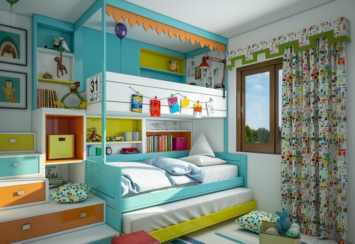 luxury kids bunk bed