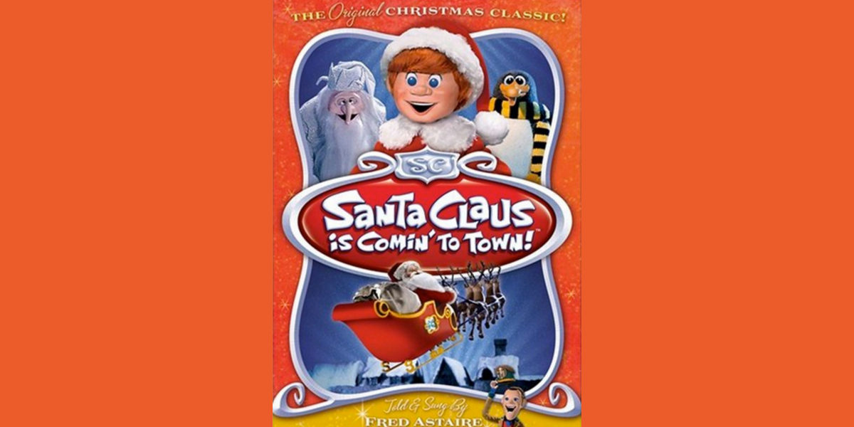 santa claus in coming to town