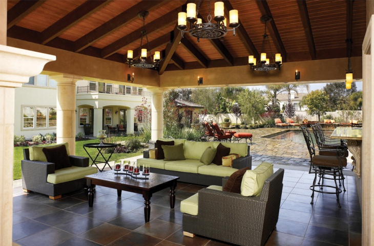 outdoor patio ceiling light - Patio Ceiling Lighting Ideas
