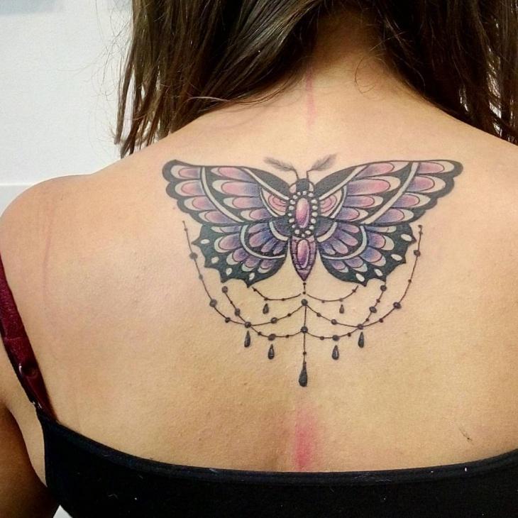22+ Back Tattoo Designs, Ideas