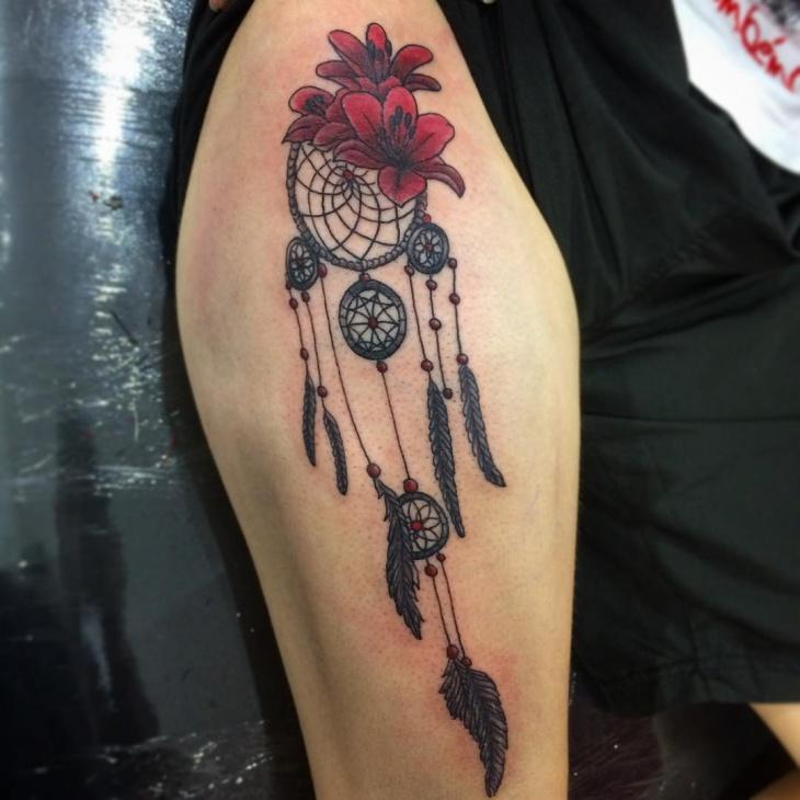 lotus flower half sleeve tattoo