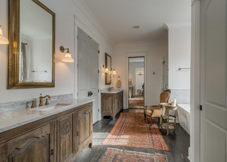 repurposed vanity furniture