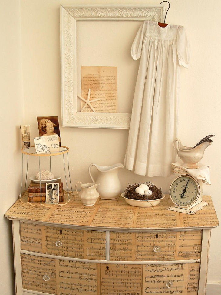 shabby chic reused furniture