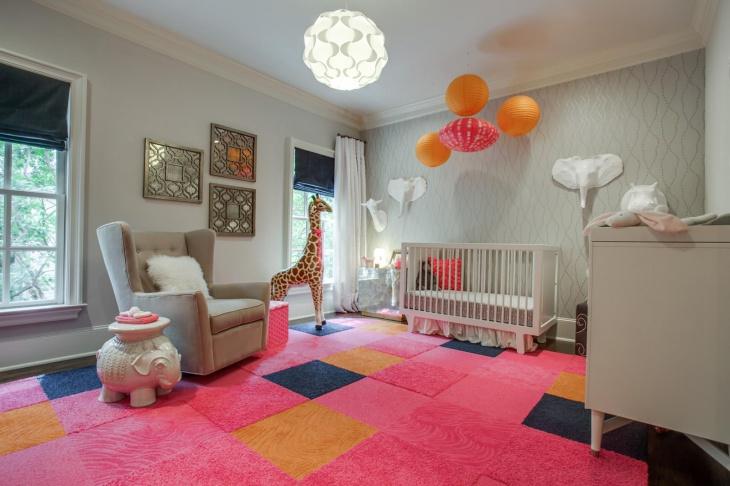 baby girl nursery theme