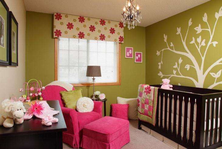 infant room decor idea