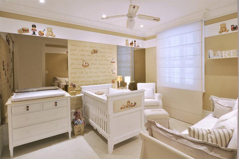 cute baby nursery idea