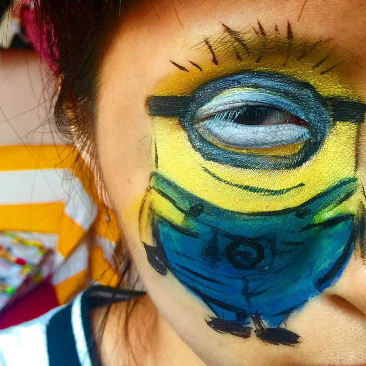 minions despicable eyes makeup