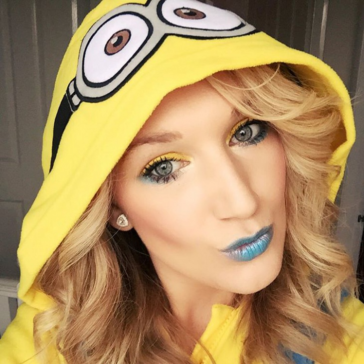 cute minion costume makeup