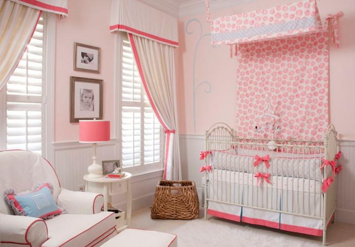traditional nursery room design