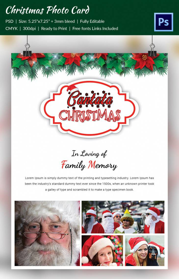 photograph relating to Free Printable Christmas Cantata identify 48+ Xmas Freebie Plans Layout Traits - Quality PSD