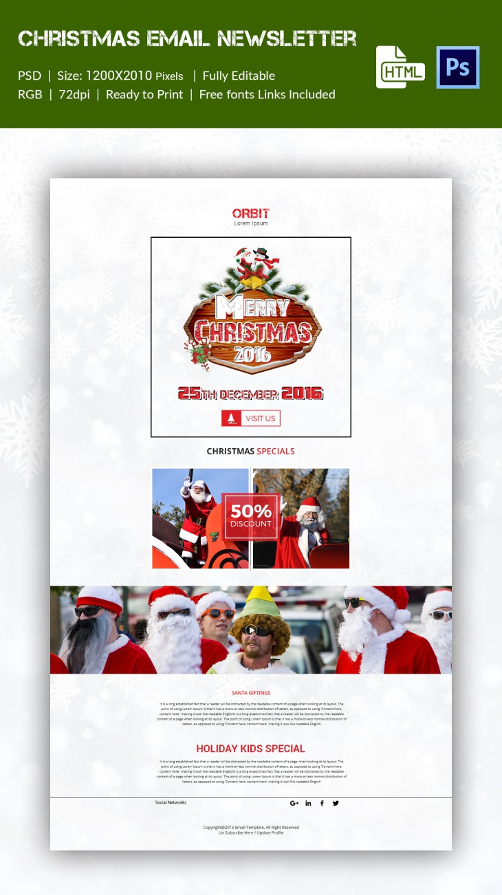 christmas broucher 2016 email news letter