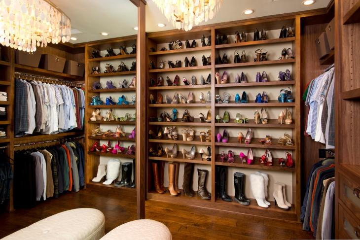 wood shoe storage cabinet design