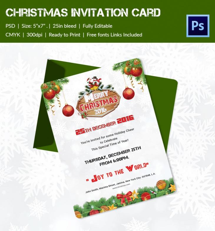 christmas broucher 2016 invitation