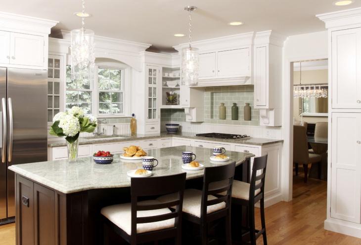 Corner Kitchen Storage Cabinet Design