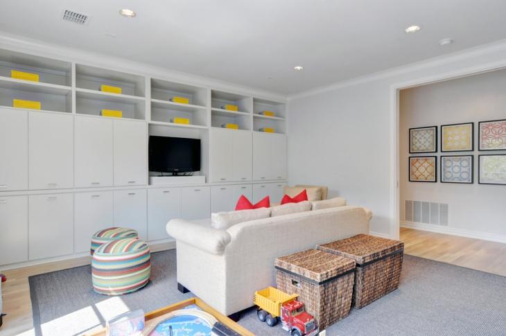 white wall storage cabinet