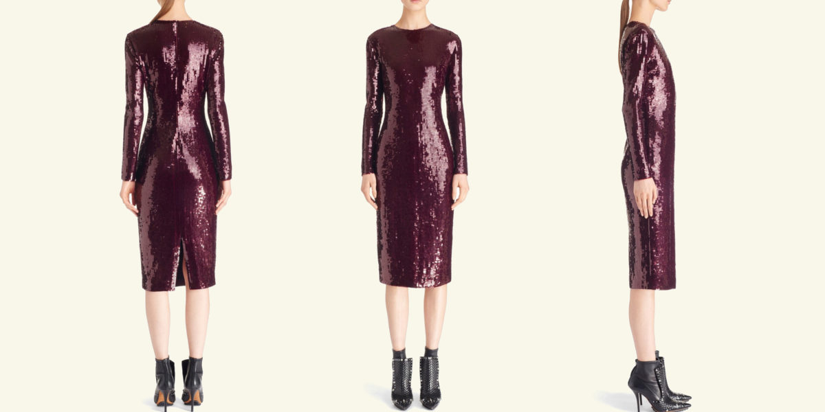 givenchy sequin sheath dress
