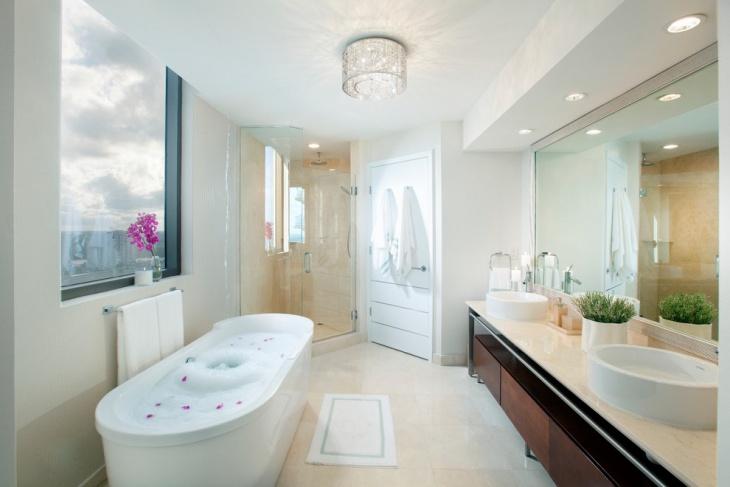 contemporary bathroom ceiling light