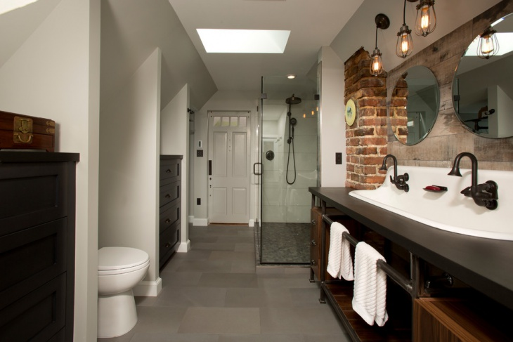 best pinterest ideas lighting bathroom industrial about on jeffreypeak great