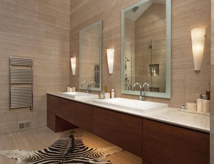 bathroom mirror wall light