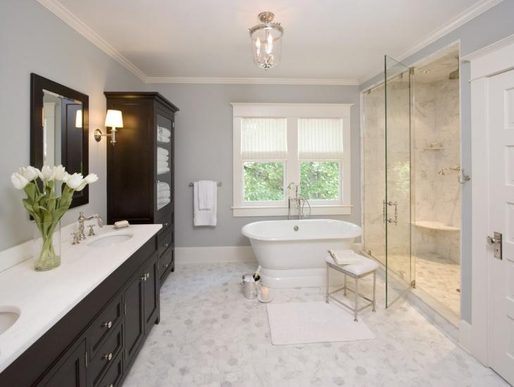 small master bathroom lighting