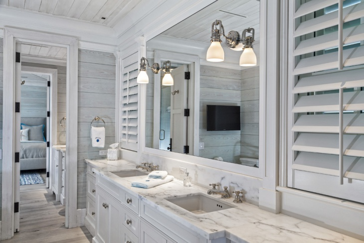 Ordinaire Beach Cottage Bathroom Lighting