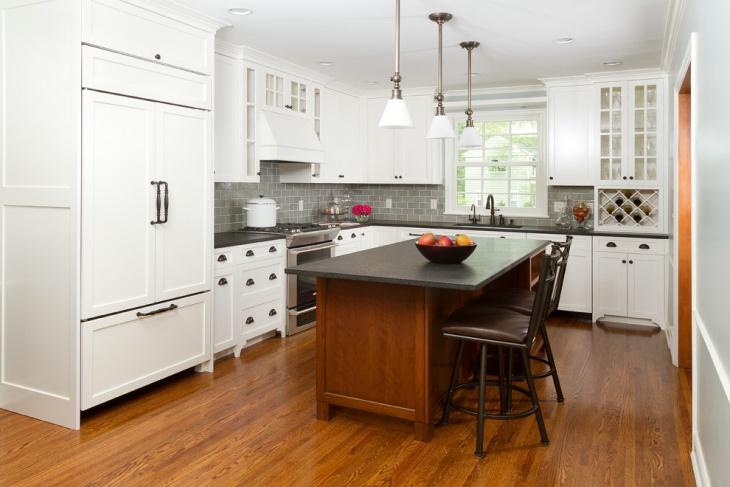 country cottage kitchen backsplash