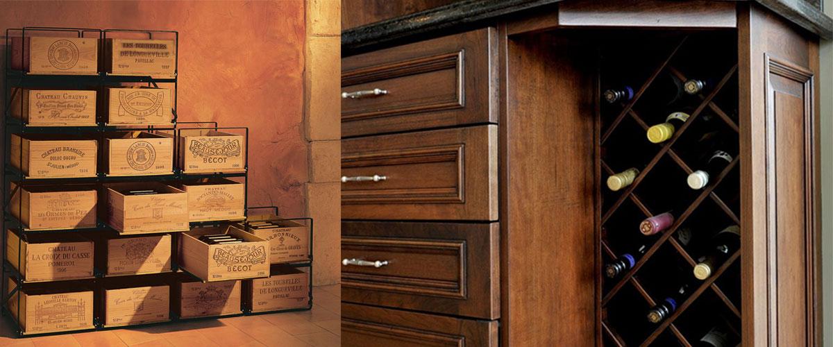 creative wine cabinets