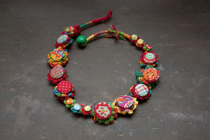 crochit handmade necklace